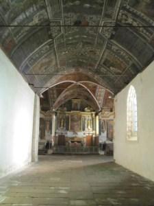 Lambris peints de la chapelle Sainte-Noyale