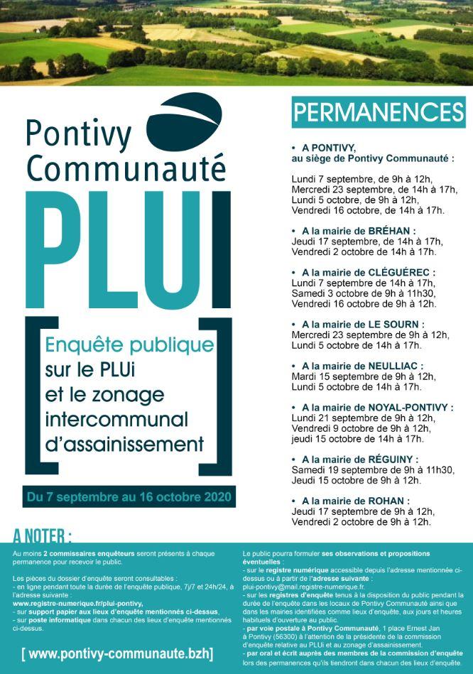 PLUi Pontivy Communauté