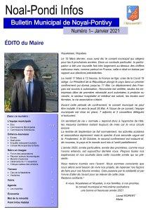 Bulletin Municipal de la Mairie de Noyal Pontivy - Janvier 2021