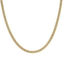 שרשרת קובנית זהב 5 ממ