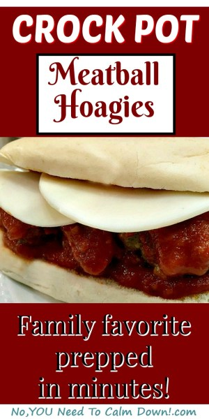 Crock Pot Meatball Hoagies. This meal couldn't be easier to prep.Quick, homemade meatballs ready to assemble into hoagies whenever the family is ready to eat dinner! These delicious hoagies have become a family favorite, making even the pickiest eaters happy!