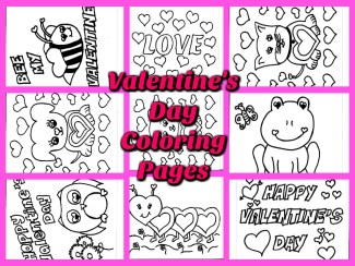 Valentine's Day Coloring Pages for Kids – Free Printables