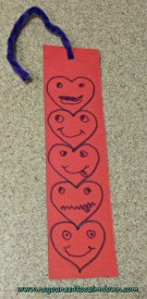 bookmark valentine's day craft