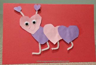 lovebug valentine's day craft