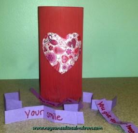 Valentine's Day Craft – Reasons Jar