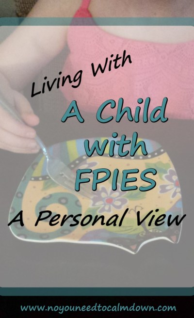 Living with a child with FPIES