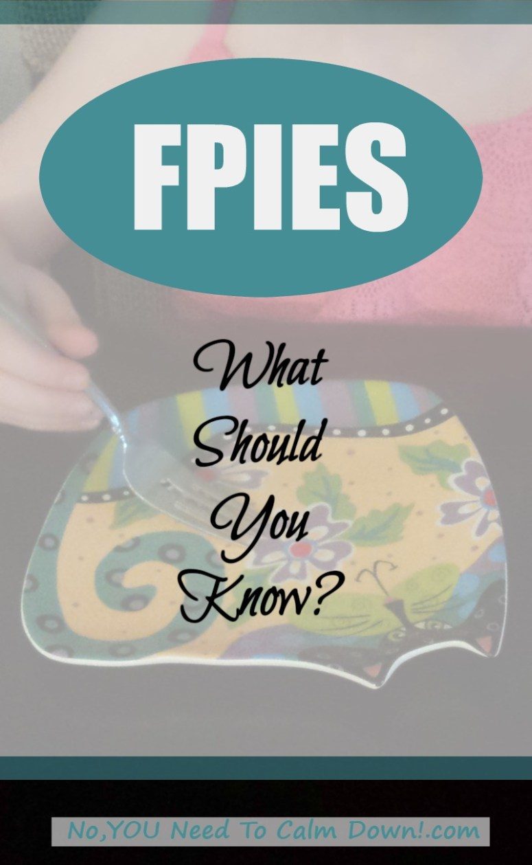 Children with FPIES. What you should know.
