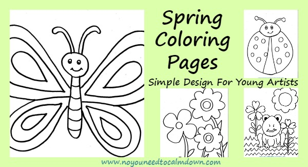 Spring Coloring Pages for Kids – Free Printables