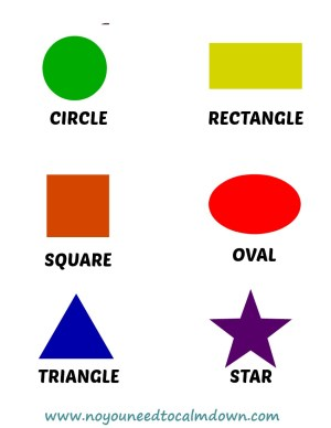 Shapes Free Printables
