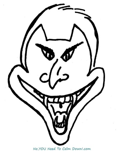Vampire coloring page for kids. This is a free printable that has a simple design for young artists! #halloween #kidscoloringpage # freeprintable #vampire