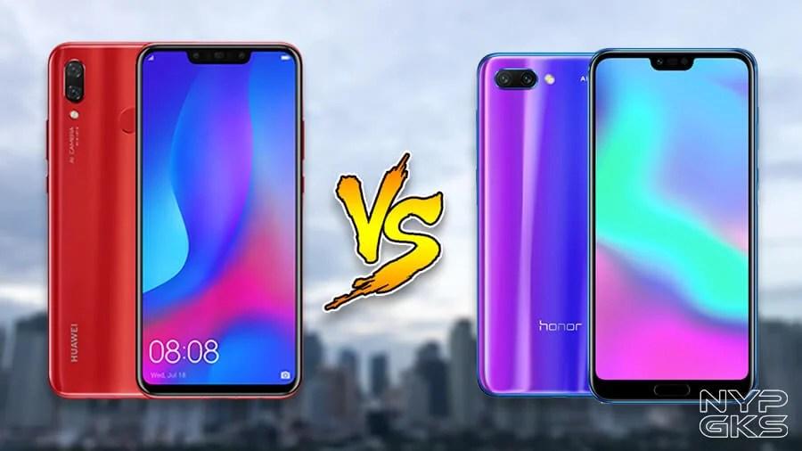 Huawei Nova 3 vs Honor 10: Specs Comparison | NoypiGeeks