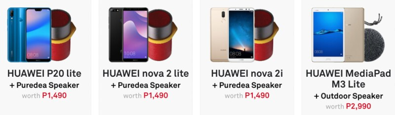 Huawei Make Snow Possible Christmas promo offers up to Php3,990 in freebies 2