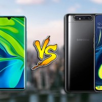 Xiaomi Mi Note 10 vs Samsung Galaxy A80: Specs Comparison