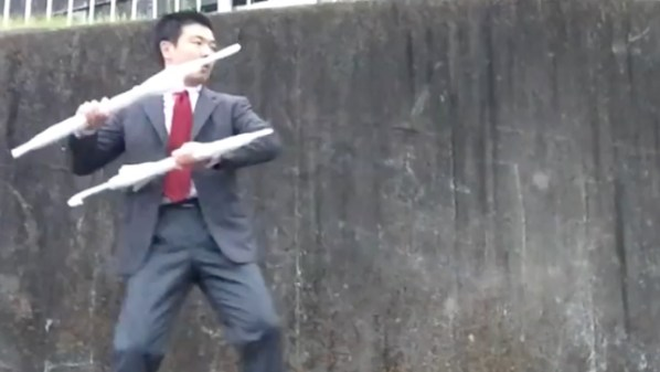 Umbrella Martial Arts #1