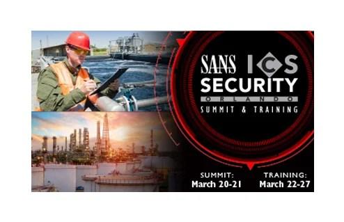 SANS ICS Security Summit & Training
