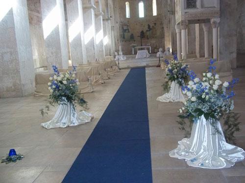 Decorazioni floreali in Chiesa come risparmiare con il fai da te