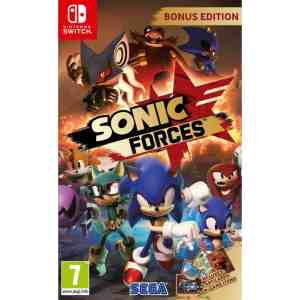 Jogo Sonic Forces Nintendo Switch