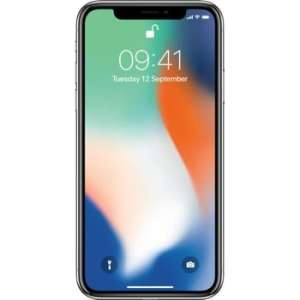 iPhone X 64GB Prateado Seminovo