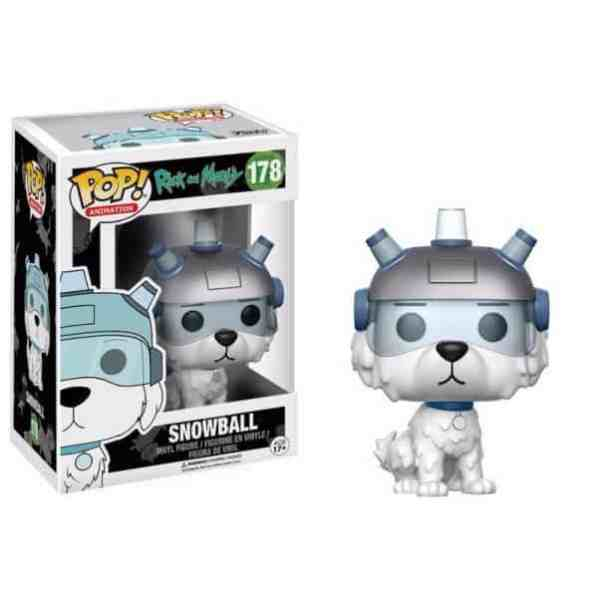 Funko Pop SnowBall - Ricky and Morty