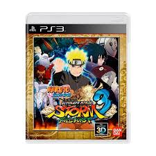 Jogo Naruto Shippuden Ultimate Ninja Storm 3 Full Burst PS3 Seminovo