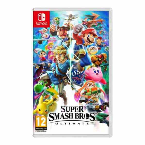 Jogo Super Smash Bros Ultimate Nintendo Switch
