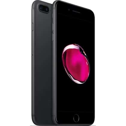 iPhone 7 Plus 256GB Preto Mate Seminovo