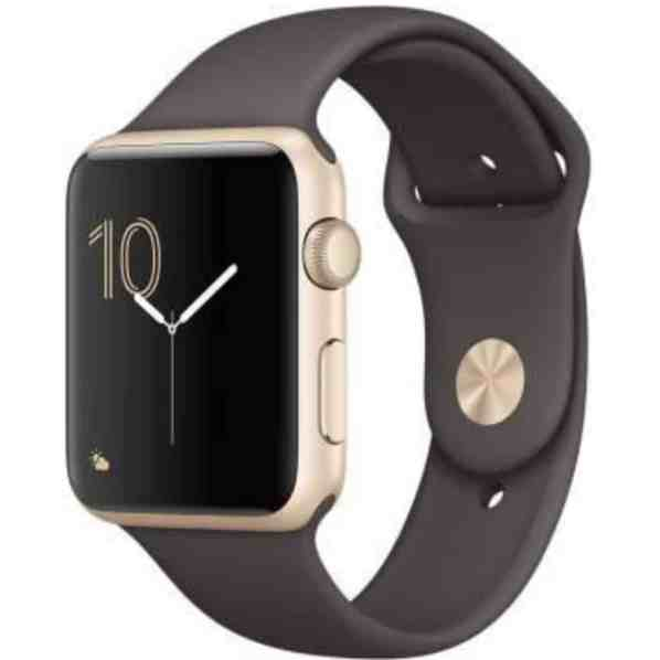 Apple Watch Series 1 38mm Aluminum Case Gold Cocoa