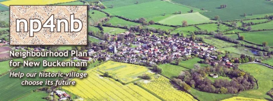 Neighbourhood Plan for New Buckenham - Your chance to have your say.
