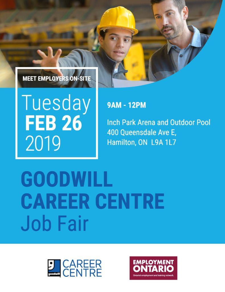 Goodwill Career Centre Job Fair