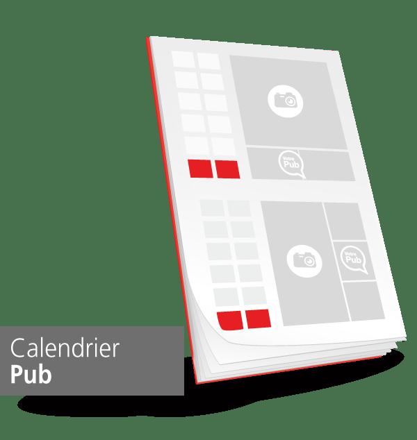 calendrier personnalisable de sapeur-pompier categorie pub, npc-calendrier.fr