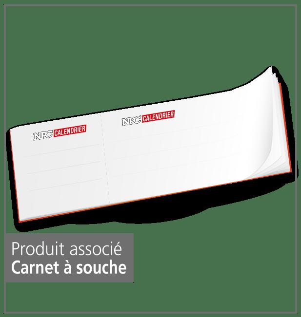 produit carnet à souche, calendrier sapeur-pompier, calendriers sapeurs-pompiers, npc-calendrier.fr