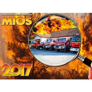 calendrier des sapeurs-pompiers de mios-2017-1, npc-calendrier.fr