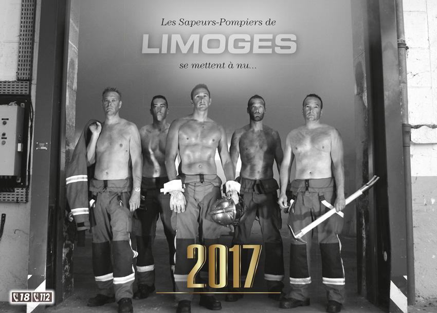 calendrier des sapeurs-pompiers de limoges-2017-1, npc-calendrier.fr