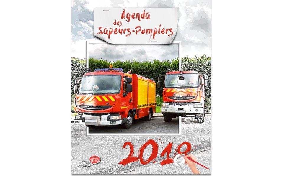 npc-calendrier.fr, calendrier des sapeurs-pompiers personnalisés et personnalisables, grand agenda, 2018, 1