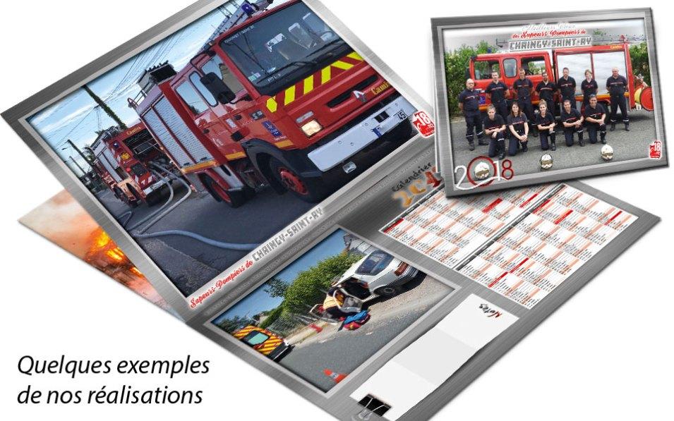 calendrier-photo-2018-2, npc-calendrier.fr, calendrier des sapeurs-pompiers, personnalisés, personnalisables, 2018