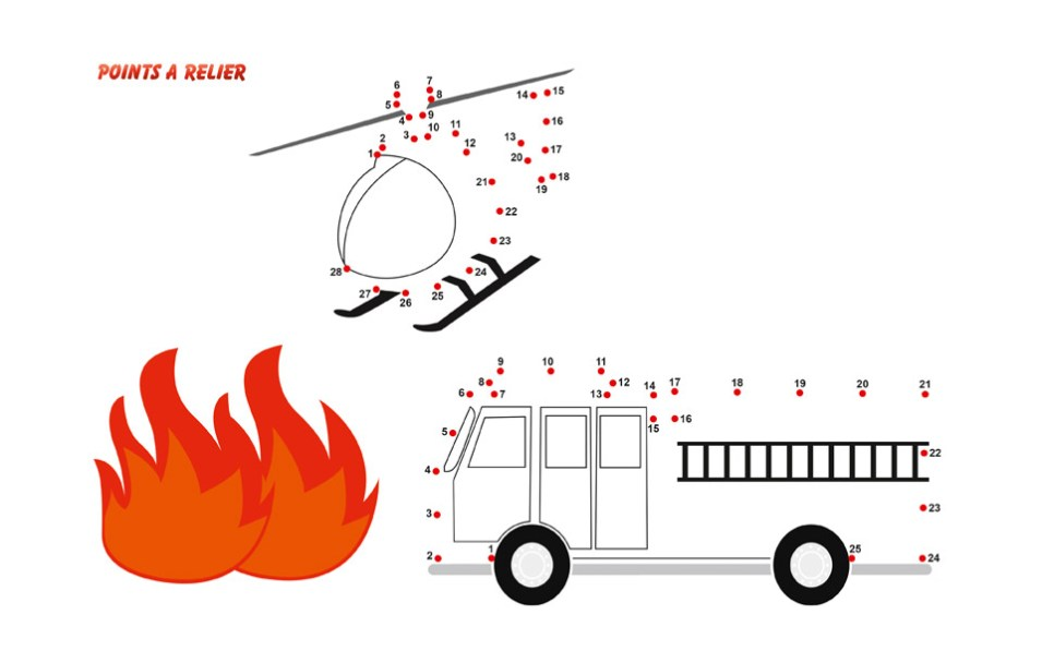 coloriage-2018_1, npc-calendrier.fr, calendrier des sapeurs-pompiers, personnalisés, personnalisables, 2018