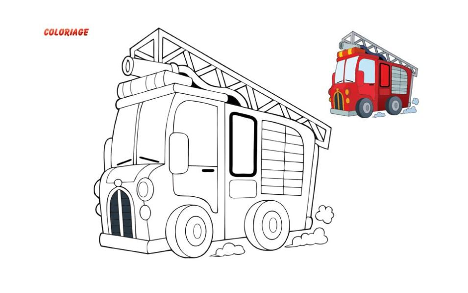 coloriage-2018_2, npc-calendrier.fr, calendrier des sapeurs-pompiers, personnalisés, personnalisables, 2018