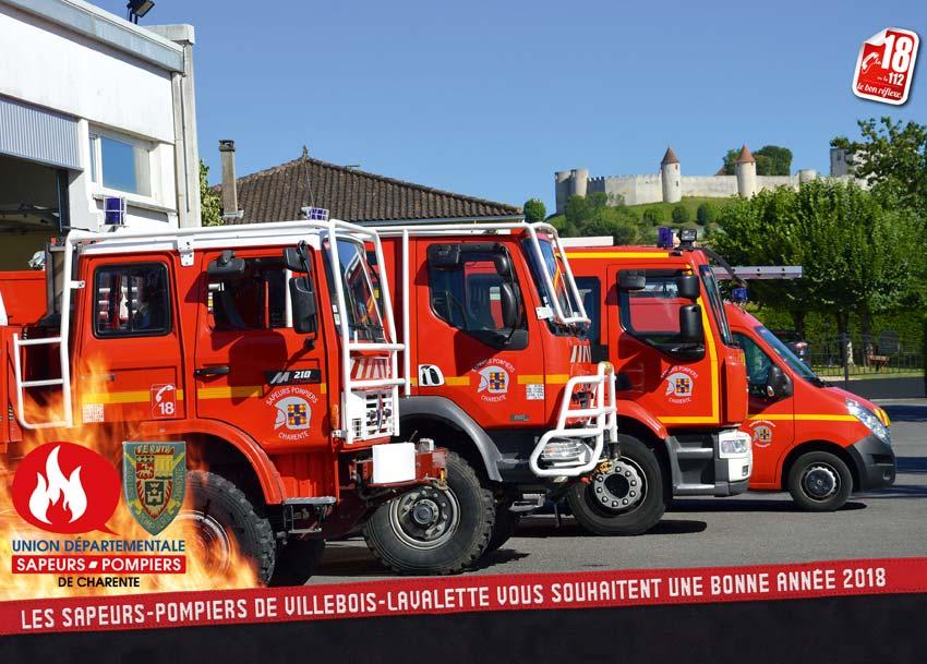 calendrier des sapeurs-pompiers de Villebois-2018-1, npc-calendrier.fr