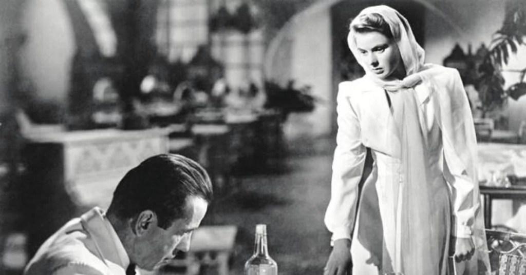 Humprey Bogart e Ingrid Bergman
