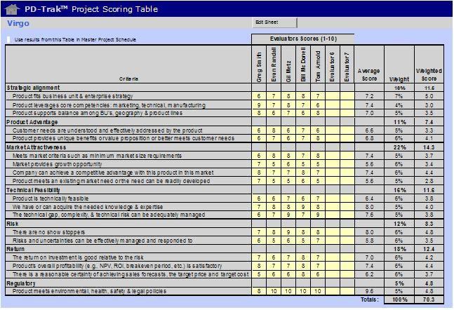 market assessment template
