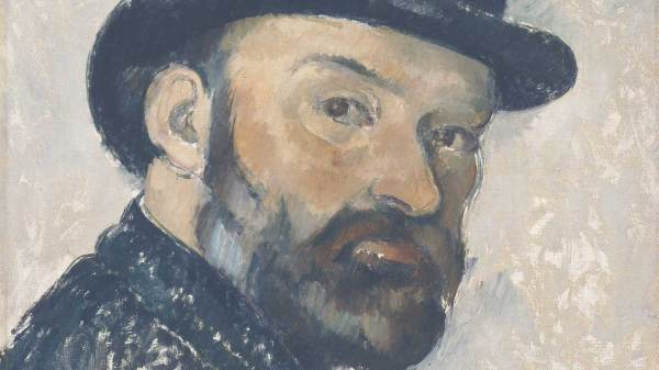 Paul Cezanne Portrait National Gallery
