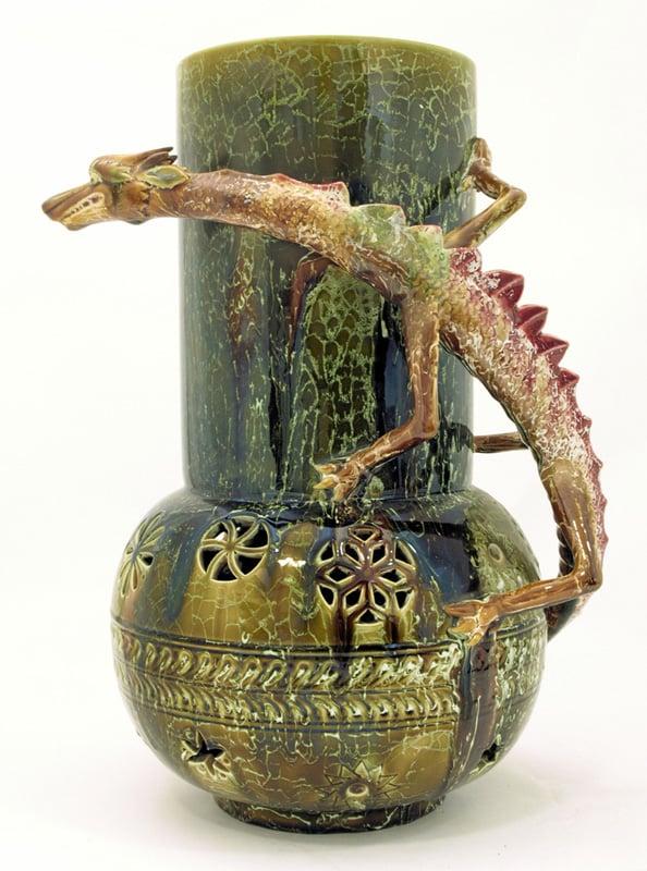 Making A Mark  Dragonware Vase designed by Christopher