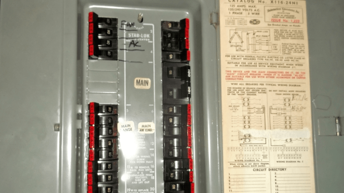 Gfci Line Load Wiring Diagram Federal Pacific Breaker Boxes Dangerous For Houston Home