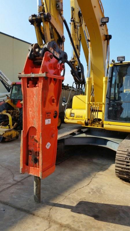 Gh6 Hydraulic Hammer Hydraulic Breaker Npkce