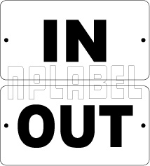 in- door labels