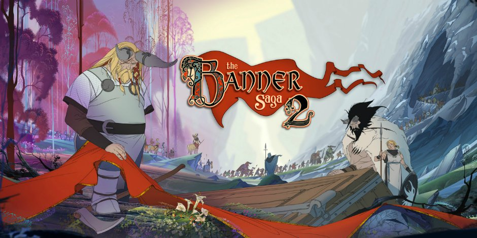 The Banner Saga 2 in azione su Nintendo Switch