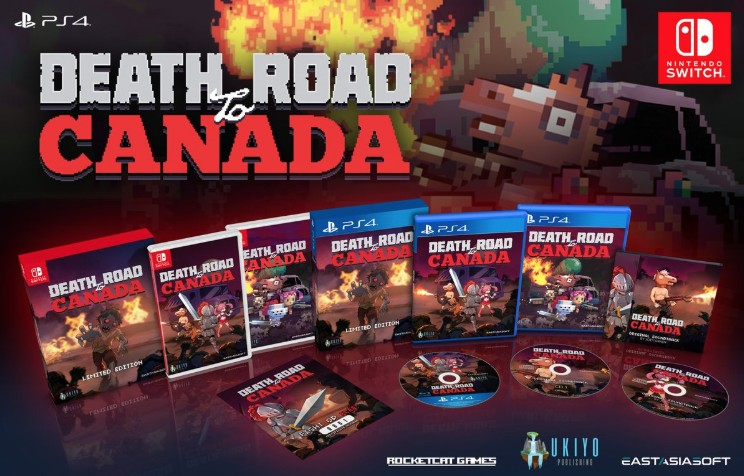 Death Road To Canada, Limited Edition Nintendo Switch