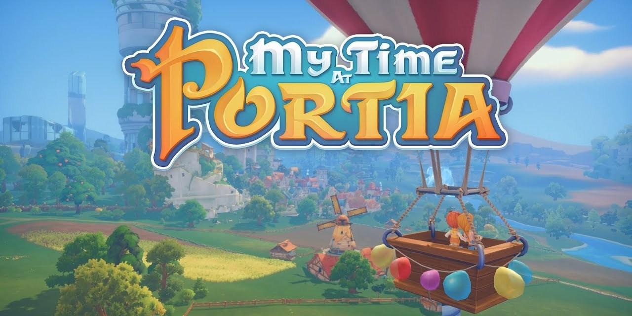 My Time at Portia, in arrivo un aggiornamento importante dopo il lancio su Nintendo Switch