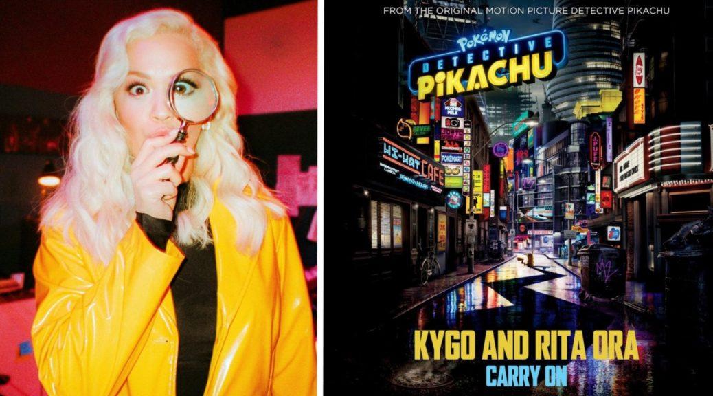 """Su YouTube il singolo di Rita Ora """"Carry On"""", colonna sonora di Detective Pikachu"""