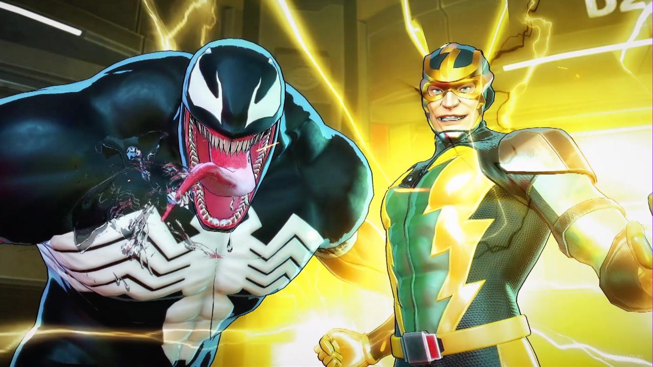 Marvel Ultimate Alliance 3: gameplay esclusivo della boss fight contro Venom e Electro